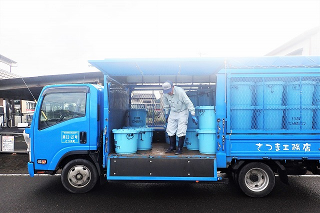 ごみ収集活動 さつま町 土木 解体 リサイクル 株式会社薩摩工務店